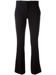Versace Classic Flared Trousers Black