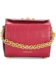 Alexander Mcqueen Box Bag 19 Red