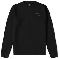 Edwin Base Crew Sweat Black