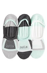 Zella Women's Secret 3 Pack Low Profile Socks
