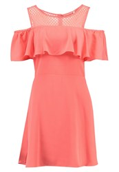 Naf Naf Chou Summer Dress Corail Coral