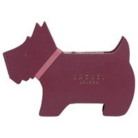 Radley Profile Dog Leather Small Coin Purse Berry