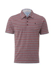 White Stuff Men's Up Gear Polo Red