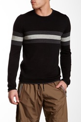 Parke And Ronen Raleigh Crew Neck Sweater Black