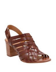 Clarks Ralene Luster Leather Sandals