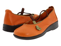 Arcopedico Vitoria Orange Women's Maryjane Shoes
