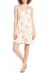 Lush Women's Embroidered Shift Dress