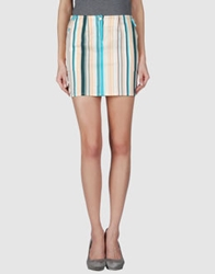 Guess By Marciano Mini Skirts Apricot