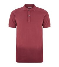 Tomas Maier Dip Dye Polo Shirt Male