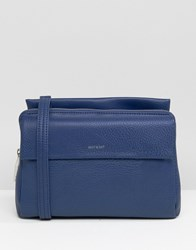 Matt And Nat Cross Body Bag Royal Blue