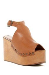 Matisse Tiegs Platform Sandal Brown