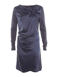 Aaiko Elegant Contrast Dress Grey