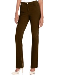 Charter Club Lexington Straight Leg Jeans Only At Macy's Rich Truffle