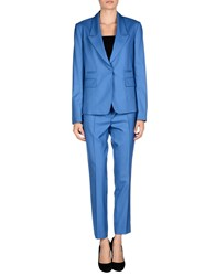 Mauro Grifoni Suits And Jackets Women's Suits Women Pastel Blue