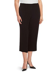 Rachel Roy Plus Flat Front Pants Black