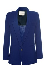 Erika Cavallini Willow Straight Blazer Blue