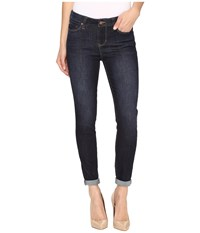 Liverpool The Crop 26 28 Rolled In Vintage Super Dark Indigo Vintage Super Dark Indigo Women's Jeans Black