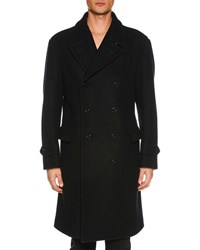 Tom Ford Double Breasted Trench Coat Black
