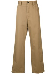 Belstaff Wide Leg Trousers Brown