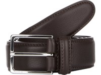 Barneys New York Leather Belt Dk.Brown