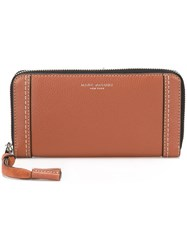 Marc Jacobs 'Maverick' Continental Wallet Brown