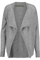 Enza Costa Draped Cashmere Cardigan
