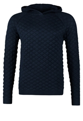 Villain Dean Jumper Navy Dark Blue