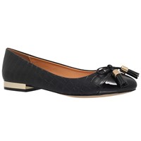 Miss Kg Meena Flat Ballet Pumps Black