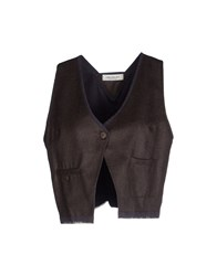 Crossley Topwear Tops Women Dark Brown