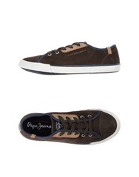 Pepe Jeans Low Tops And Trainers Dark Brown