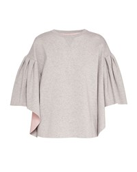 Ted Baker Orcher Wool And Cashmere Blend Jumper Light Grey
