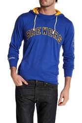 Mitchell And Ness Mlb Brewer Away Team Hooded Sweatshirt Multi