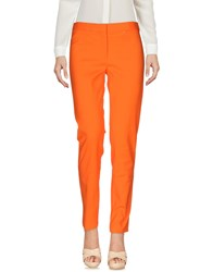 Versace Casual Pants Orange