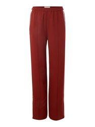 In Wear Tuxedo Stripe Trouser Rust