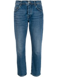 Iceberg Low Rise Cropped Jeans 60