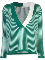 Morgan Lane Eddy Cashmere Jumper Green