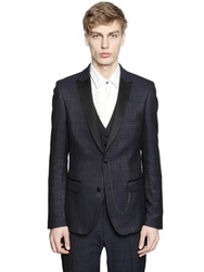 Lords And Fools Wool Silk Boucle Evening Jacket