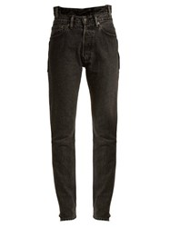 Vetements X Levi's Reworked High Rise Slim Leg Jeans Black