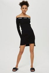 Ivy Park Black Bardot Dress By