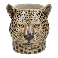Quail Ceramics Ceramic Leopard Pen Pot