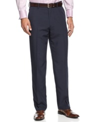Haggar Classic Fit Eclo Tonal Tic Weave Dress Pants
