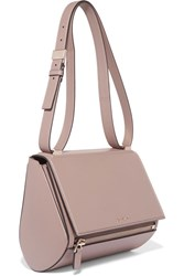Givenchy Pandora Box Medium Textured Leather Shoulder Bag Beige