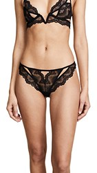 Thistle And Spire Kane Cutout Thong Black