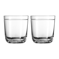 Vera Wang Wedgwood Bande Glass Tumblers Set Of 2