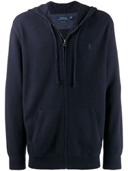 Polo Ralph Lauren Zipped Up Jacket Blue