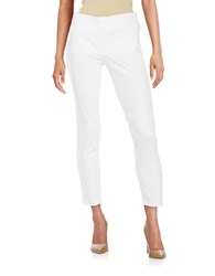 Nydj Millie Pull On Ankle Jeans White