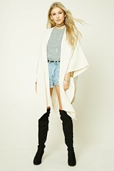 Forever 21 Draped Open Front Cardigan
