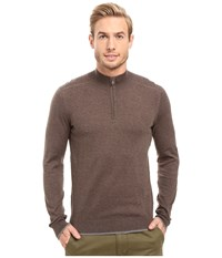 Agave Graftin Long Sleeve Supima 14Gg Cub Men's Long Sleeve Pullover Brown
