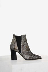 Intentionally Blank Tempo Floral Bootie Multi