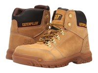 Caterpillar Outline St Honey Reset Men's Work Lace Up Boots Beige